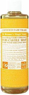 ドクターブロナー Dr.Bronner's Magic マジックソープ リキッドタイプ シトラスオレンジ 472ml 日本国内正規品
