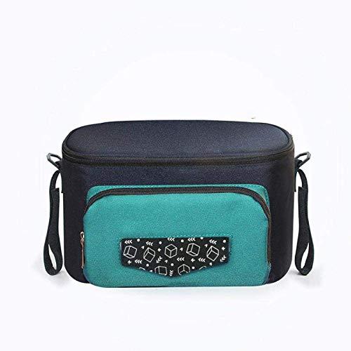 Kpcxdp Trolley, Wickeltasche, Aufbewahrungstasche für Rollstühle, Windeltasche, multifunktionale Aufbewahrungstasche für Schultaschen