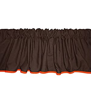 Baby Doll Solid Reversible Window Valance