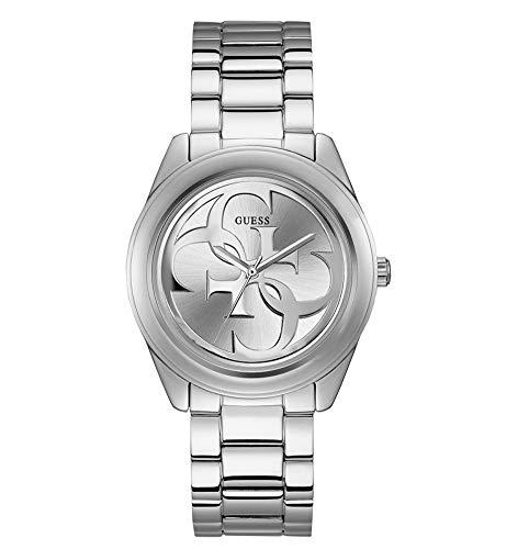 Guess Damen Analog Uhr G-Twist mit Edelstahl Armband