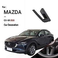 MAZDA 2020 CX-30自動車 ABS ステアリング・ハンドル メッキステアリングホイール U字型装飾ストリップ 内装パーツ
