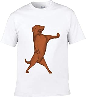 Harvey Rhodes Children's T-Shirt Dog Canidae Dog Breed Vizsla Carnivore Sporting Group Tail Il