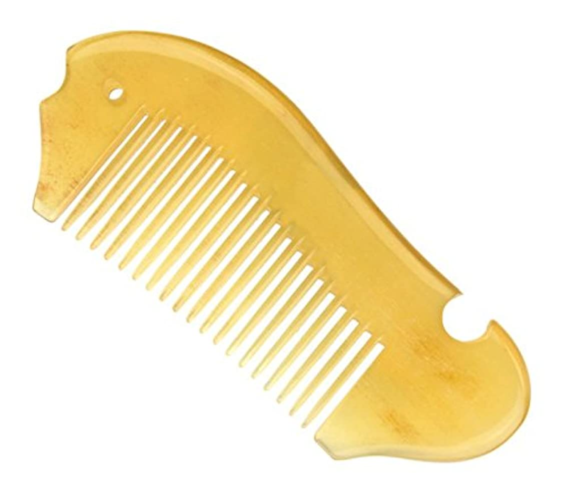 仕様ループ有彩色の櫛型 プロも使う羊角かっさプレート マサージ用 血行改善 高級 天然 静電気防止 美髪 美顔 ボディ リンパマッサージ