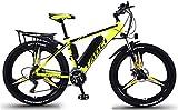 Bicicleta electrica, 26 'Bicicletas eléctricas para adultos, 8Ah, 10Ah, 13Ah Batería de iones de litio extraíble Ebike, 27 Speed Shifter Mountain Ebike para viajes de ciclismo al aire libre Trabajo