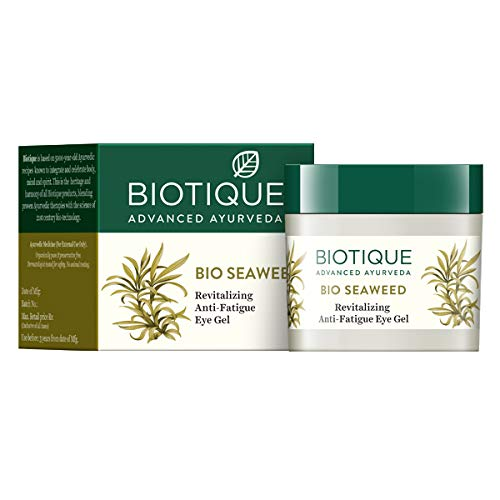 Biotique Bio Seaweed Revitalizing Anti Fatigue Eye Gel, 15g