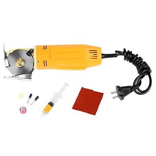 Cortador de tela eléctrico, cuchillo octogonal, cortadora de tela, cuchillo redondo, cuchilla giratoria, cortador de tela, tijeras