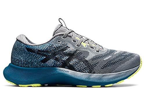 ASICS Zapatillas de running Gel-Nimbus Lite 2 para hombre, azul (Deep Sea Teal/Negro), 46.5 EU