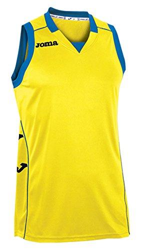 Joma 100049.900 - Camiseta de Baloncesto, Color Amarillo, Talla XL
