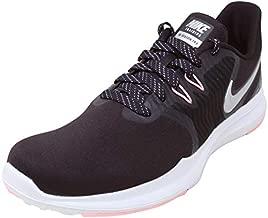 Nike Women's in-Season TR 8 Training Shoe Burgundy Ash/Metallic Silver/Pink Tint Size 7.5 M US