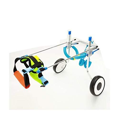 FFLSDR Pet-Rollstuhl Haustier Auto Haustier Roller Hund Hinterbein Klammer Rollstuhl (größe : Xl)