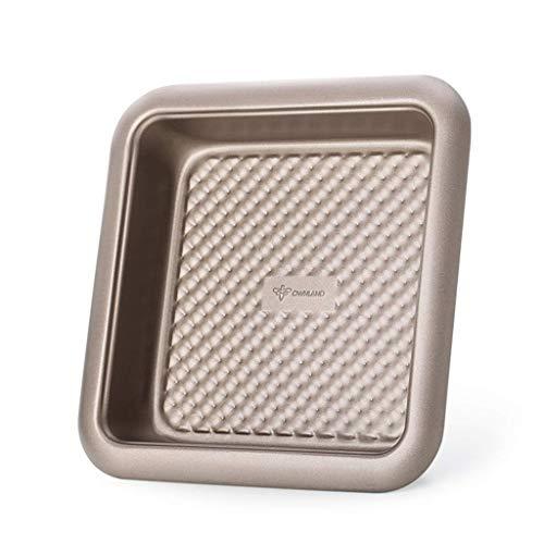 GJJSZ Moule à gâteau carré pour ustensiles de Cuisson | Moule à Pain | Moule à gâteau antiadhésif pour ustensiles de Cuisson Moule Multifonctionnel en