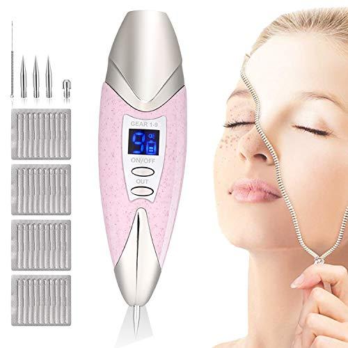 ESOLOM Skin Tag Entferner Stift zum Entfernen von Maulwurfhaut mit 9 Stärken und LCD-Display, tragbar, wiederaufladbar per USB für Gesicht Körper Tattoo, Hautunreinheiten, Altersflecken, Warzen