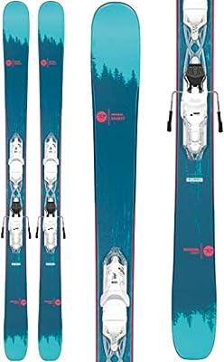 Rossignol Sassy 7/Xpress 10 Ski Package Womens Sz 150cm White/Sparkle