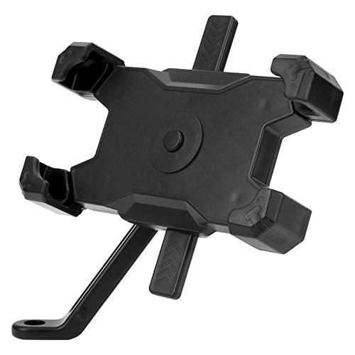 Tomanbery Soporte para Ciclismo Espejo retrovisor extraíble Desmontable Giratorio para Bicicleta de Carretera para Bicicletas Plegables Se Ajusta a una Bicicleta estática para Bicicleta de(Black)
