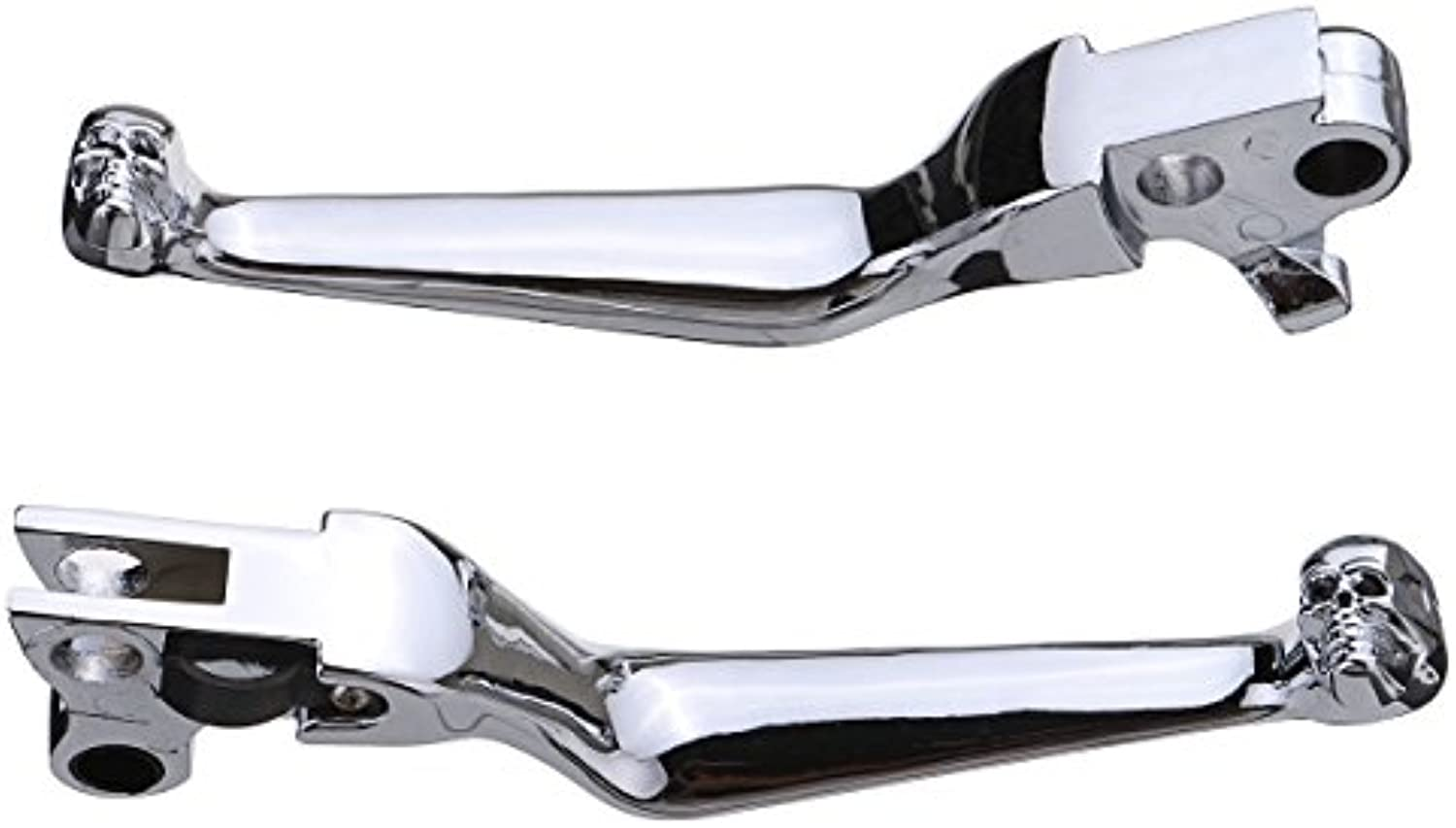 CoCocina Motorcycle Brake Clutch Levers For Harley Softail Road King Ultra Touring  Plating