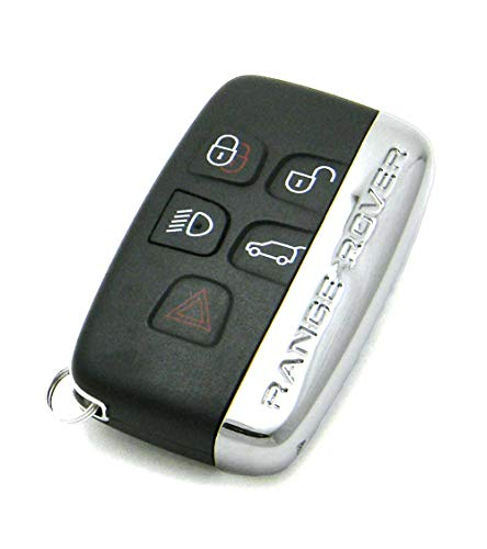 OEM 5-Button Smart Key Fob Remote Compatible With 2011-2018 Land Rover Range Rover (FCC ID: KOBJTF10A, P/N: CH22-15K601-AB)