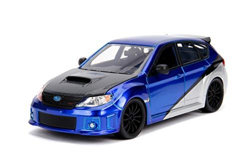 Jada Toys 1:24 Fast & Furious - Brian s Subaru Impreza WRX STI  Blue (99514)