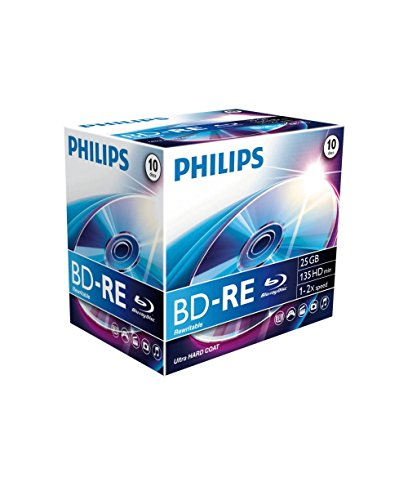 Philips Blu-Ray ReWritable 25GB 2X JC (10)