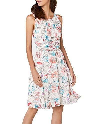 ESPRIT Collection Damen 038EO1E024 Partykleid, Rosa (Pastel Pink 695), 40