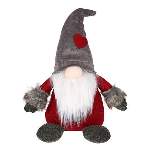 KISSION Natale Babbo Svedese Tomte Lungo Cappello Gnomo Fatto A Mano Peluche Bambola Casa Tavolo Arredamento Desktop Ornamento