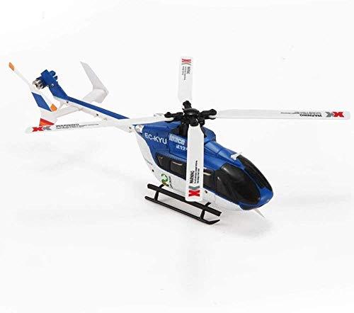 WGFGXQ Avión RC Flying Toys 2.4GHZ 4CH 6Axis Helicóptero de Control Remoto Regalos para niños Niñas Juego Interior al Aire Libre Cumpleaños Navidad
