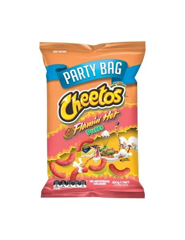 Cheetos Puffs Flamin Hot 150g