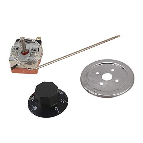 TaoToa Horno de control de temperatura de termostato capilar de 50 a 300 grados NC