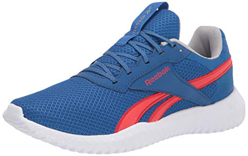 Reebok Men's Flexagon Energy TR 2.0 Cross Trainer, Vector Blue/Instinct red/Pure Grey, 14