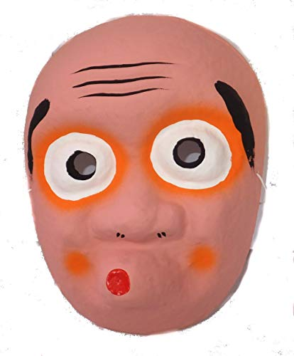 Mask made in Japan papier-mache Hyottoko (japan import)