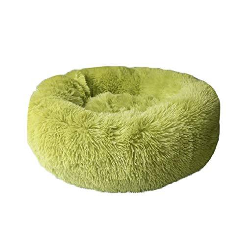 Cama para Mascotas, Peluche Super Suave Bed Bed Kennel Redondo Bolsa de Dormir Lazy Cat House Cálido Invierno Sofá Cesta Pequeño Perro Medio Medio para Mascotas