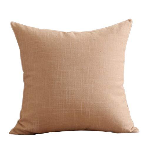 YONGYONG Coussin Lit Rafraîchissant Canapé-lit D'été Simple Et Moderne De Couleur Unie Grande Taille De Bureau (Color : Beige)