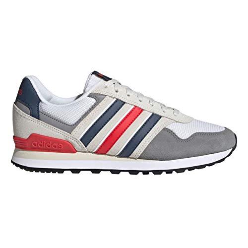 adidas 10K, Zapatillas de Running Hombre, GRIORB/AZMATR/Rojint, 40 EU