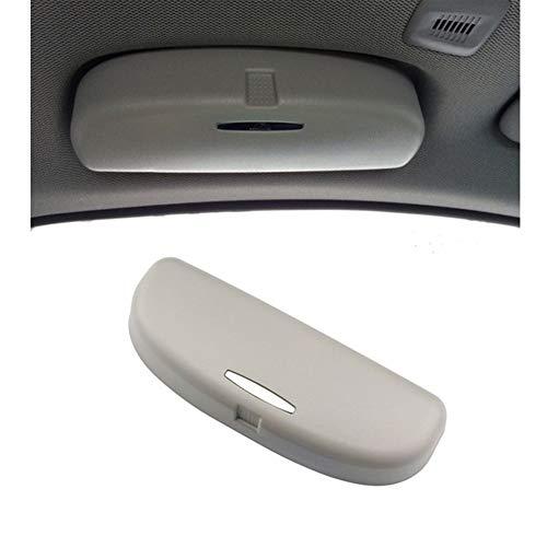DIOXQEN Multifunción Gafas De Sol del Coche Sostenedor De La Caja De Las Lentes Caso Gafas De Sol For BMW X1 X3 X5 F25 F10 F11 F20 G05 I3 Accesorios Interior del Coche (Color : Gray)