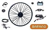 Bafang Kit de conversión para bicicleta eléctrica de 26 pulgadas, 250 W, 36 V, rueda delantera con radios, kit IP65 C961 G020, motor de buje BF-FWD-25036-G020-26