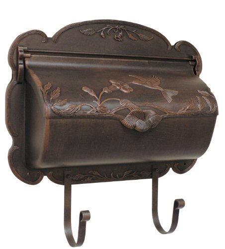 Special Lite Products SHB-1004-CP Hummingbird Horizontal Mailbox, Copper