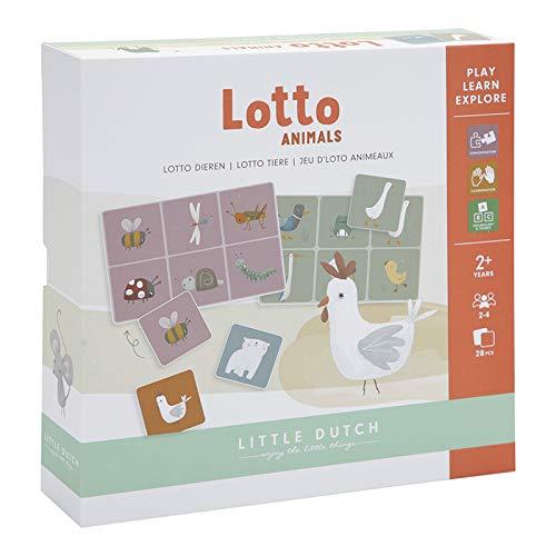 Little Dutch 4751 Lottospiel mit Tieren