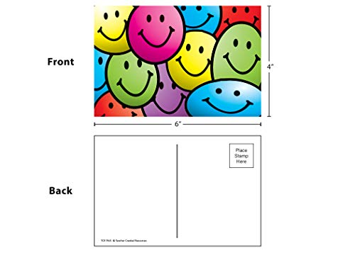 Teacher Created Resources Smiley Faces Postcards (1965) Photo #3