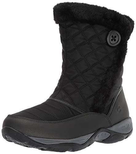 Easy Spirit Women's Exposure2 Mid Calf Boot, Black 001, 8.5