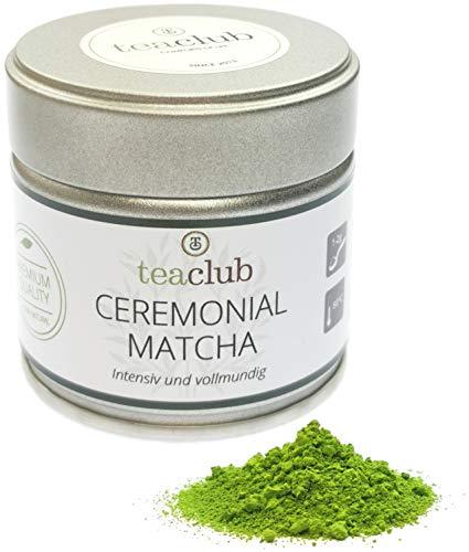 Ceremonial Grade Matcha aus Japan 30g, First Flush Tencha Blätter Beschattet Zeremonielle Qualität, Grüner Tee Pulver aus Kagoshima, Tea-Club