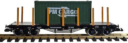 Zenner Flachwagen Mir Größem Playmobil Container, Spur G