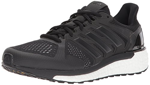 adidas Performance Women's Supernova ST W Running Shoe, White/Core Black/Core Black,9.5