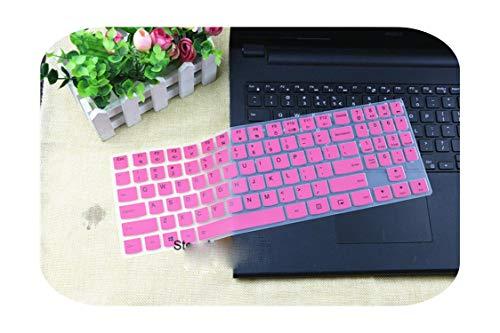 Silikon-Schutzhülle für 38,1 cm (15 Zoll) Laptop für Lenovo Legion Y720 Y520 Y530 Y540 R720 R730 15IKBN R720-15IKBN 15 6 Zoll, pink