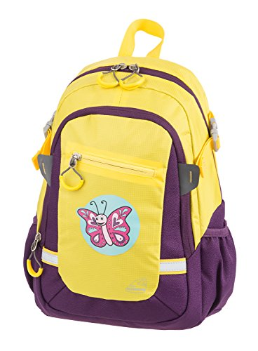 Schneiders Vienna Kids Backpack Little Butterfly Kinder-Rucksack, 35 cm, Gelb