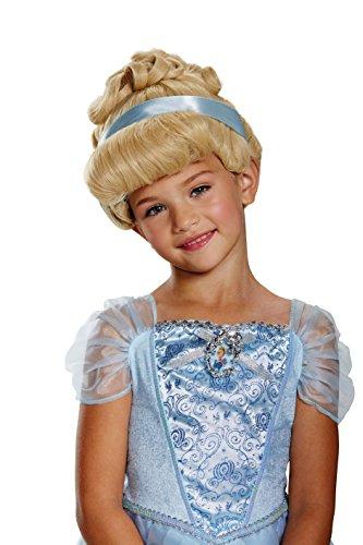 kids disney princess cinderella costume deluxe wig brickseek brickseek