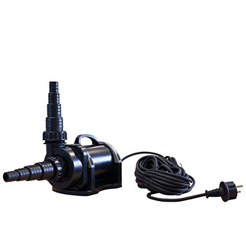 Jebao Pumpe etx10000 zur Trockenaufstellung 10000l/h ECO nur 85W externe Pumpe Teichpumpe Gartenpumpe Filterpumpe