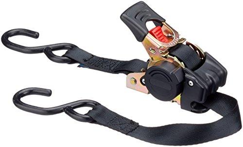 Nigrin 2332030000 spanband, zwart, 35 x 8 x 8 cm