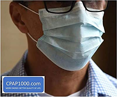 Level 1 Barrier Procedure Masks (Box of 50) by CPAP1000