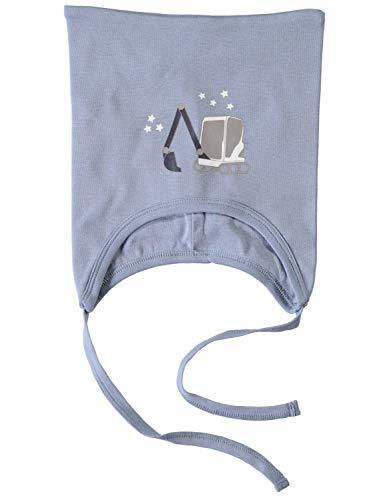 NAME IT Bonnet pour bébé Garçon Bagger - Bleu - 50/51 cm(2-4 ans)