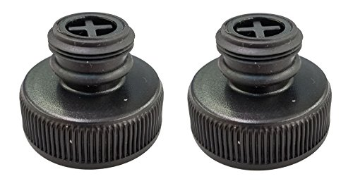 (2) Bissell 203-8413 Tank Cap for Powerfresh Steam Mop