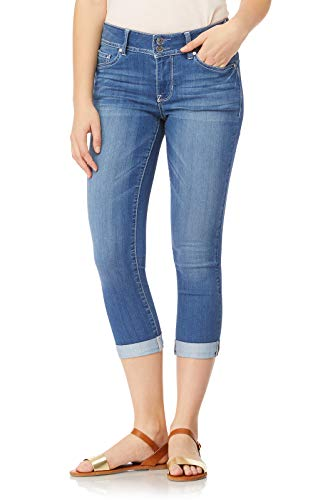 Price comparison product image WallFlower Juniors Women's InstaSoft Ultra Fit Skinny Crop Jeans in Florence,  7